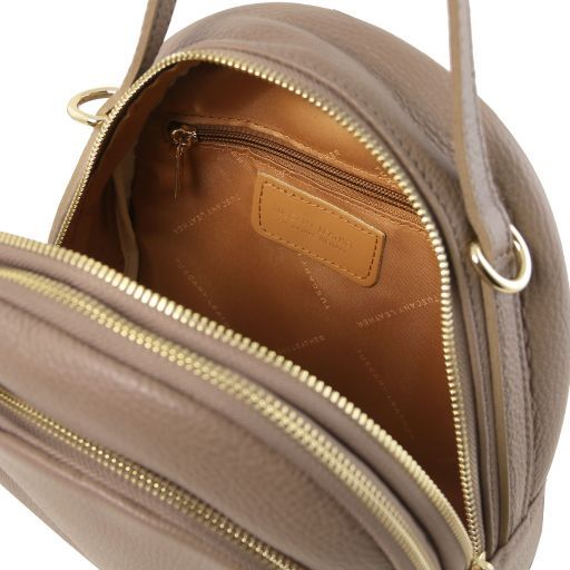 TL Bag Zaino donna in pelle Talpa scuro TL141743