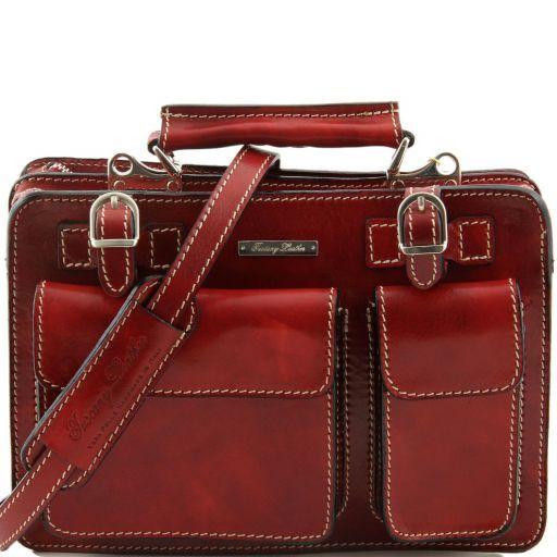 Tania Damenhandtasche aus Leder Rot TL6021