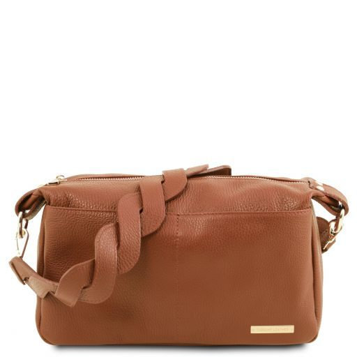 TL Bag Soft leather duffle bag Коньяк TL141746