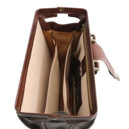 Canova Leather Doctor bag briefcase 3 compartments Honey TL141347