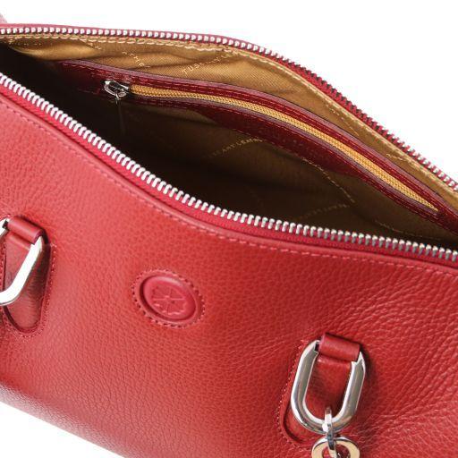 Narciso Bauletto in pelle Rosso TL141875