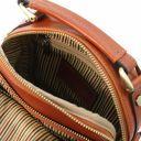 Paul Leather Crossbody Bag Honey TL141916