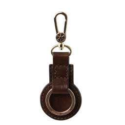 Leather key holder Dark Brown TL141922