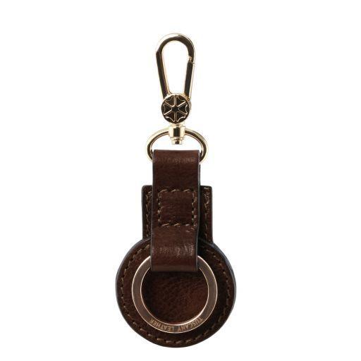 Schlüsselanhänger aus Leder Dunkelbraun TL141922