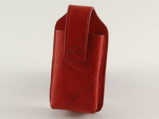 Leather cellphone holder Red TL140248