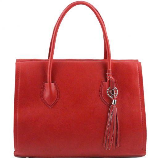 TL Bag Borsa morbida con nappa e tracolla Rosso TL141372
