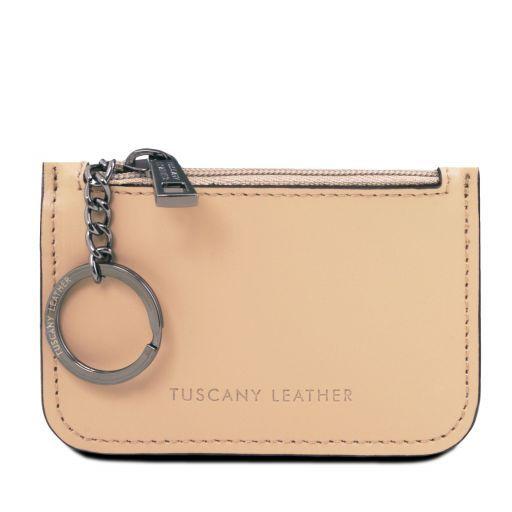 Leather key holder Brandy TL141671