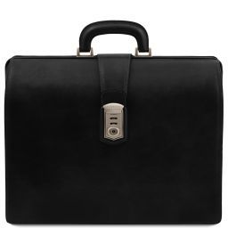 Canova Leather Doctor bag briefcase 3 compartments Черный TL141826