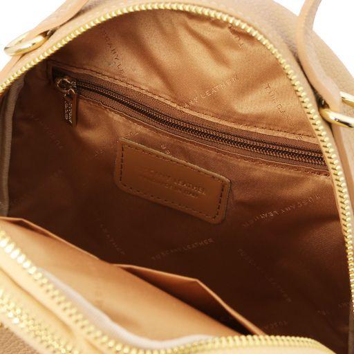 TL Bag Zaino donna in pelle Champagne TL141743