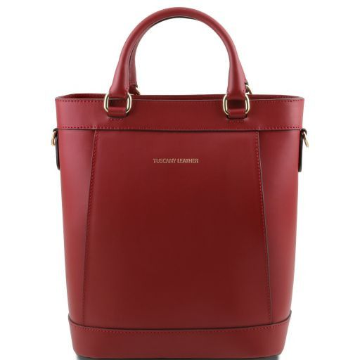 Demetra Borsa secchiello da donna in pelle Rosso TL141410