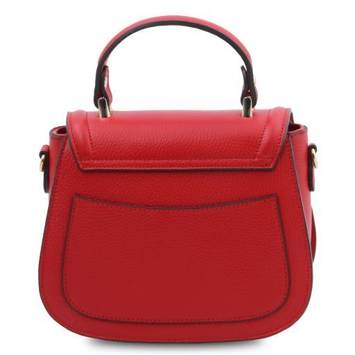 TL Bag Leather handbag Lipstick Red TL141941