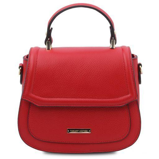TL Bag Sac à main en cuir Rouge Lipstick TL141941