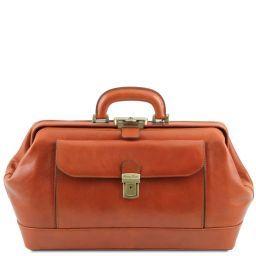 Bernini Exclusive leather doctor bag Honey TL141298
