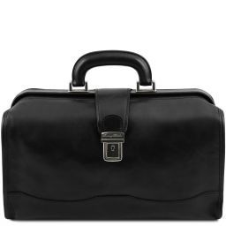 Raffaello Doctor leather bag Black TL141852