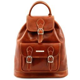 Singapore Leather - Backpack Honey TL9039