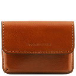 Эксклюзивный кожаный футляр для визиток Мед TL141378