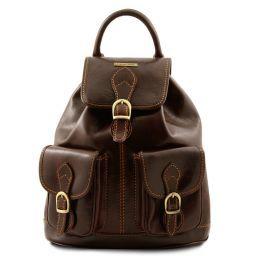 Tokyo Кожаный рюкзак Темно-коричневый TL9035