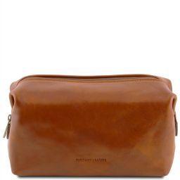 Smarty Beauty case en piel - Modelo grande Miel TL141219