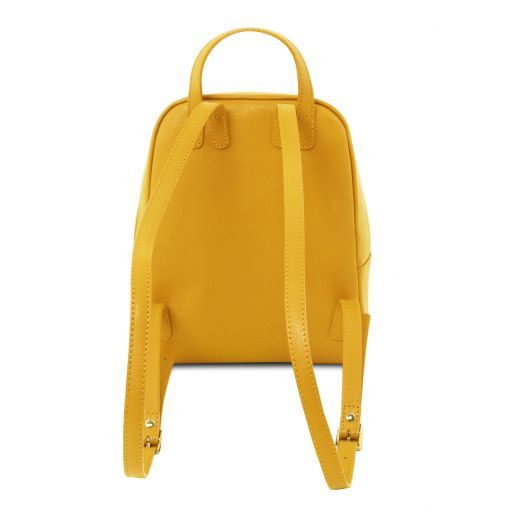 TL Bag Small Saffiano leather backpack for woman Желтый TL141701