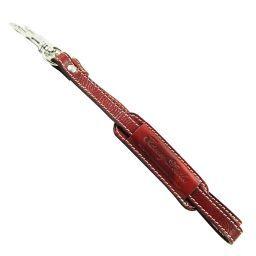 Adjustable briefcases leather shoulder strap Red SP141029
