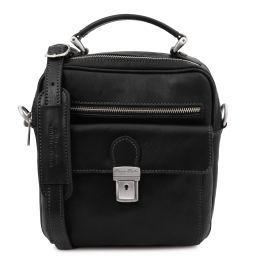 Brian Leather shoulder bag for man Черный TL141978