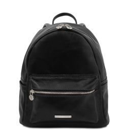 Sydney Leather backpack Черный TL141979