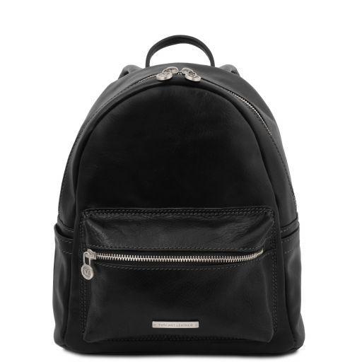Sydney Leather backpack Black TL141979