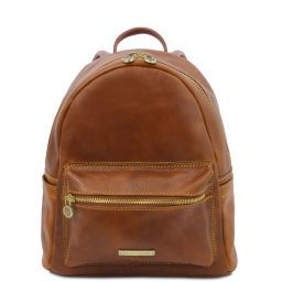 Sydney Leather backpack Мед TL141979
