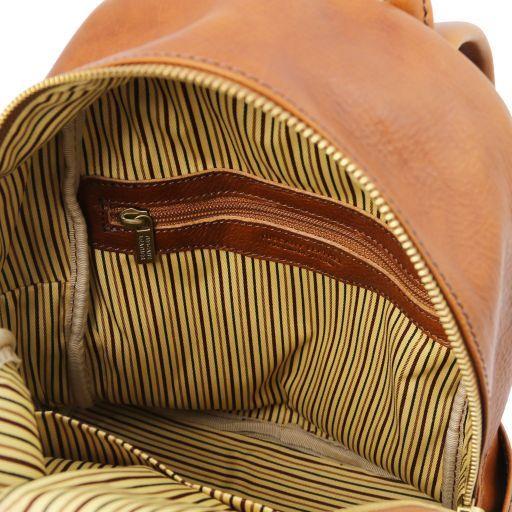 Sydney Leather backpack Honey TL141979