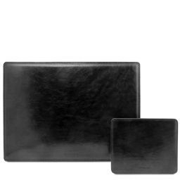 Office Set Leather desk pad and mouse pad Черный TL141980