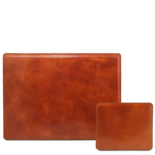 Office Set Leather desk pad and mouse pad Honey TL141980