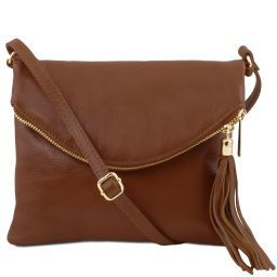 TL Young bag Shoulder bag with tassel detail Cinnamon TL141153