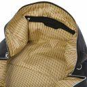 Oslo Travel leather duffle bag - Weekender bag Black TL141913