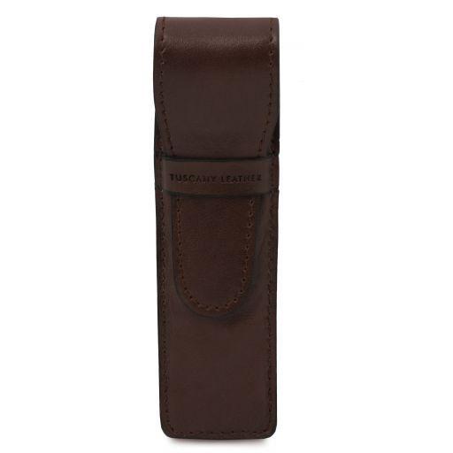 Esclusivo porta penne in pelle Testa di Moro TL141274