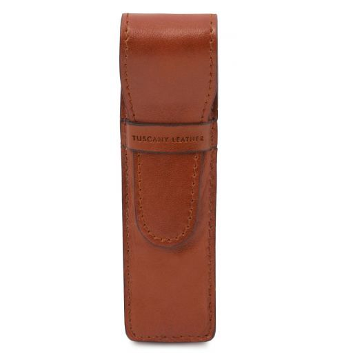 Exclusive leather pen holder Honey TL141274