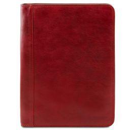 Ottavio Klassische Dokumentenmappe aus Leder Rot TL141294