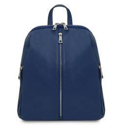 TL Bag Soft leather backpack for women Dark Blue TL141982