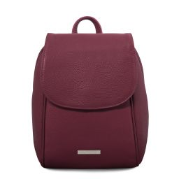 TL Bag Zaino in pelle morbida Bordeaux TL141905
