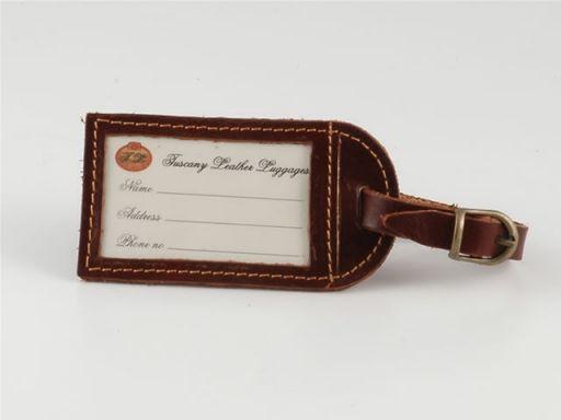Etichetta per bagaglio Marrone LUGGTAG
