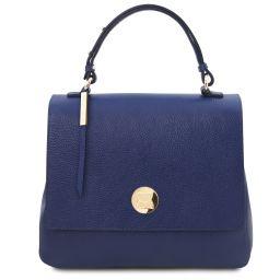 Silene Leather handbag Темно-синий TL141955