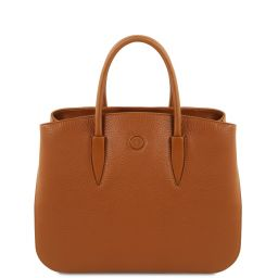 Camelia Leather handbag Коньяк TL141728