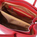 Camelia Borsa a mano in pelle Rosso Lipstick TL141728