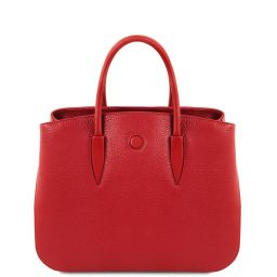Camelia Leather handbag Lipstick Red TL141728