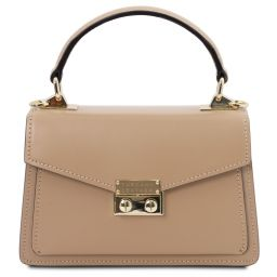 TL Bag Leather mini bag Champagne TL141994
