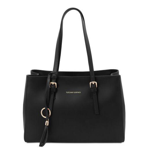 TL Bag Leather shoulder bag Черный TL142037