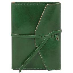 Diario / Taccuino in pelle Verde Foresta TL142027