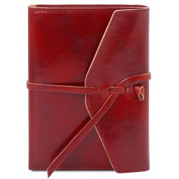 Leather journal / notebook Red TL142027