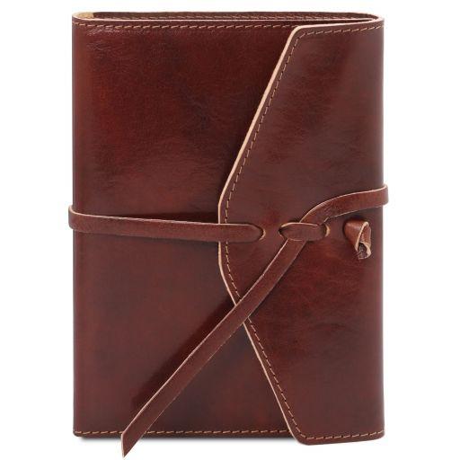 Tagebuch / Notizbuch aus Leder Braun TL142027