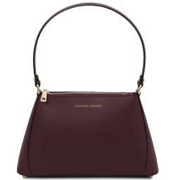 TL Bag Mini sac en cuir Bordeaux TL141997
