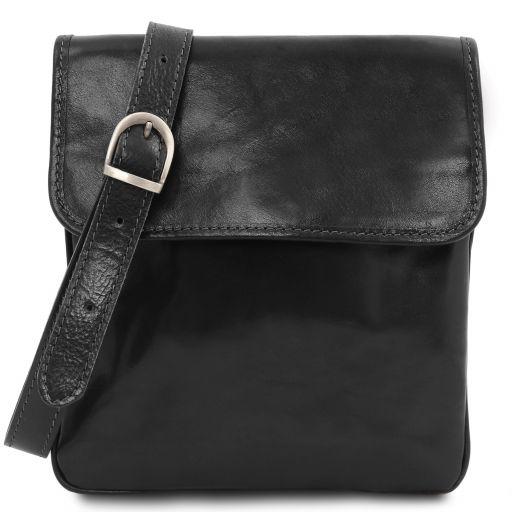 Joe Leather Crossbody Bag Black TL140987